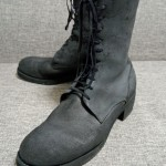 GUIDI(グイディ)のLeather Gomma Lace-up Backzip boots