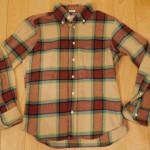 インディビジュアライズドシャツのネルシャツ