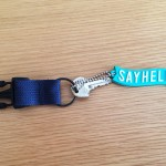 SAYHELLOのキーホルダー