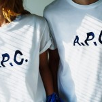 A.P.C. ×Journal Standard relume – Special make up Logo T-Shirts –